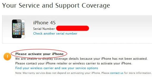 Kiểm tra nhà mạng - Quốc tế/Lock iPhone bằng check imei iPhone 4, 4s, 5, 5s, 6, 6 Plus