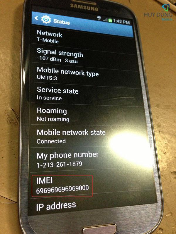 Sửa Samsung Galaxy bị mất IMEI uy tín lấy liền tại HCM