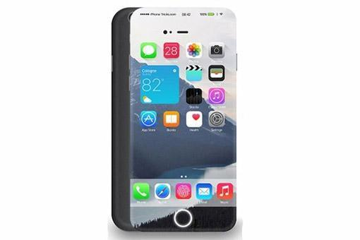Thiết kế iPhone 7 - Không có viền màn hình, nút home ảo?
