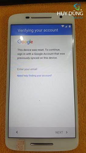 Khắc phục quên mật khẩu tài khoản Google khi Hard reset, chạy chương trình hoặc khôi phục cài đặt gốc