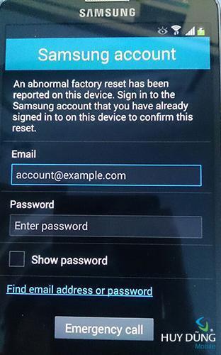 Mở khóa Samsung tài khoản Samsung Account S6, S7, S7 Edge - Xóa tài khoản Samsung