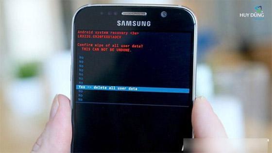 Cách tự sửa Samsung Galaxy s6 bị lỗi camera không hoạt động