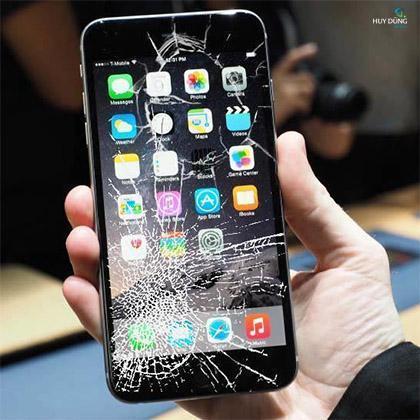 Màn hình iPhone 6s Plus /6s bị bể kính có thay được không ?