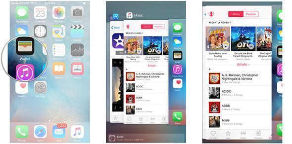 Hướng dẫn sử dụng 3D Touch ở màn hình iPhone 6s Plus / 6S