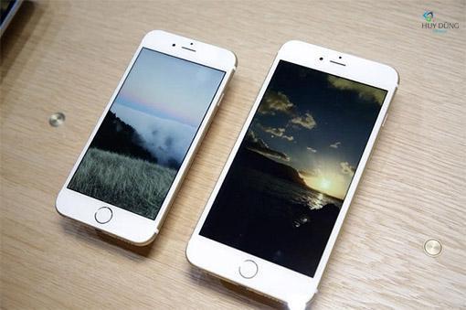 Màn hình iPhone 6S Plus làm bằng chất liệu gì ?