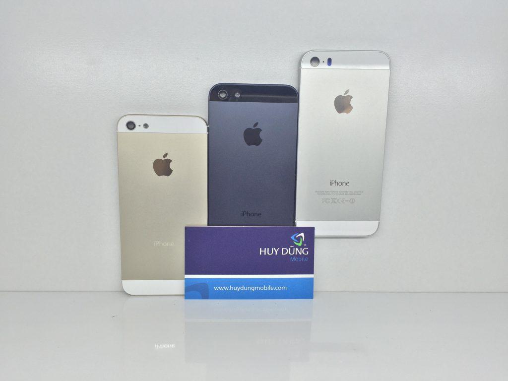 Chi phí khi thay vỏ iPhone 5/5s Đen thành Trắng, Gold
