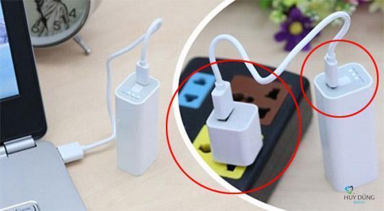Hướng dẫn cách dùng Pin sạc dự phòng đúng cách cho iPhone