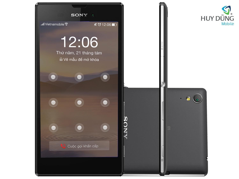 Trung tâm Mở khóa mật khẩu màn hình Sony Xperia - Remove password chữ số, hình vẽ uy tín tại HCM