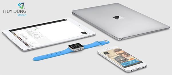 Mở khóa iCloud iPad Wifi iPod Macbook Air Apple Watch bằng Serial