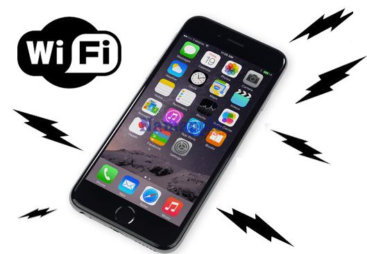 Kết quả hình ảnh cho iPhone không bắt được Wifi