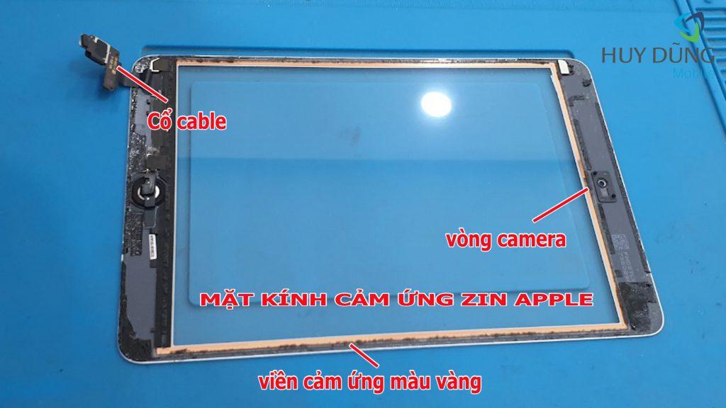 mặt kính cảm ứng ipad