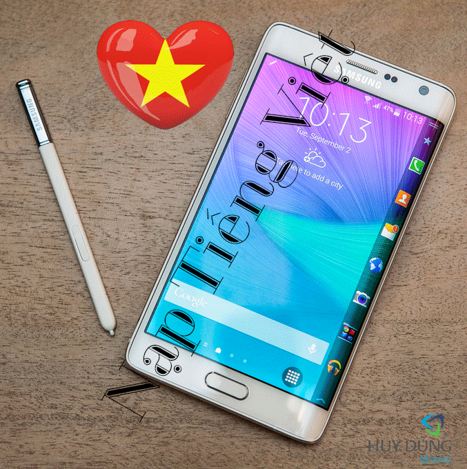 Dịch vụ nạp tiếng Việt cho Samsung Galaxy