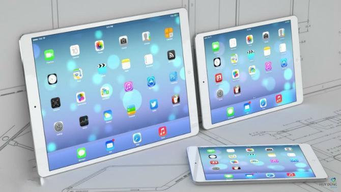 màn hình iPad Pro có độ phân giải 2732x2048 pixel