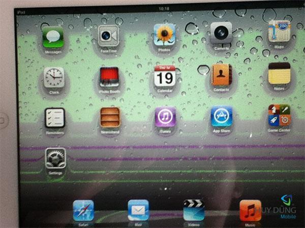 Màn hình iPad 4 bị nhiễu