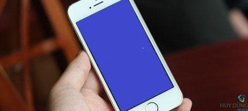 Màn hình iPhone 5 bị xanh. lỗi thường gặp