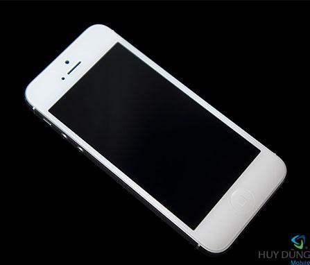 lỗi đen màn hình ở iPhone 5